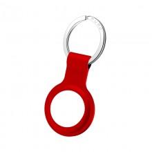 PURO ICON Case - Silikonowy brelok do Apple AirTag (czerwony)