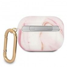 Guess Marble Est. - Etui Airpods Pro (różowy)