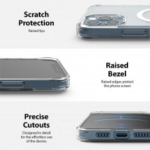 RINGKE FUSION MAGNETIC MAGSAFE IPHONE 12 PRO MAX MATTE CLEAR