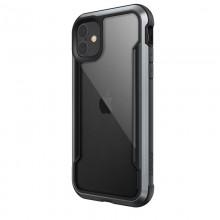 X-Doria Defense Shield - Etui aluminiowe iPhone 11 (Drop test 3m) (Black)