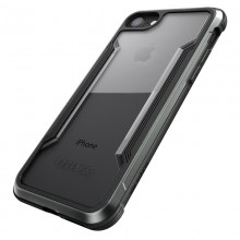 X-Doria Defense Shield - Etui aluminiowe iPhone SE 2020 / 8 / 7 (Black)