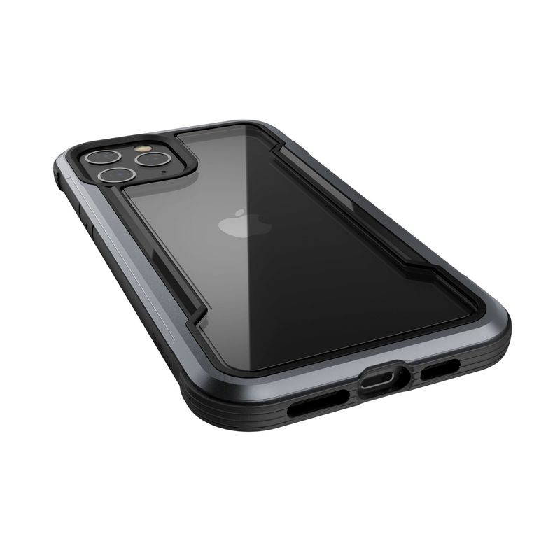 X-Doria Raptic Shield - Etui aluminiowe iPhone 12 Pro Max (Drop test 3m) (Black)