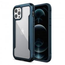 X-Doria Raptic Shield - Etui aluminiowe iPhone 12 Pro Max (Drop test 3m) (Pacific Blue)