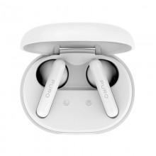 PURO Slim Pod Pro TWS 5.0 - Bezprzewodowe słuchawki Bluetooth V5.0 z etui ładującym, wodoszczelność IPX5 (biały)