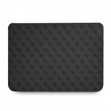 """Guess 4G Big Metal Logo Computer Sleeve - Etui na notebooka 13"""" (czarny)"""