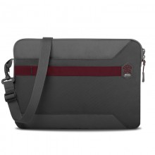 "STM Blazer - Pokrowiec z paskiem MacBook Pro 13"" / MacBook Air 13"" / Notebook 13"" (Granite Grey)"
