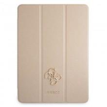"Guess Saffiano 4G Big Metal Logo - Etui iPad Pro 11"" 2021 (złoty)"