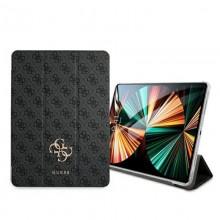 "Guess 4G Big Metal Logo - Etui iPad Pro 12.9"" 2021 (szary)"