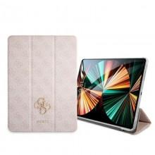 "Guess 4G Big Metal Logo - Etui iPad Pro 12.9"" 2021 (różowy)"