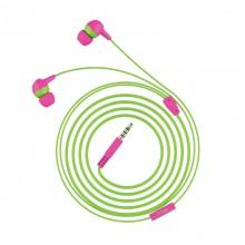 Trust Buddi Kids - Słuchawki douczne dla dzieci (Różowo-zielony)