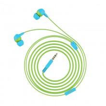 Trust Buddi Kids - Słuchawki douczne dla dzieci (Niebiesko-zielony)