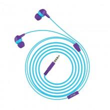Trust Buddi Kids - Słuchawki douczne dla dzieci (Fioletowo-niebieski)