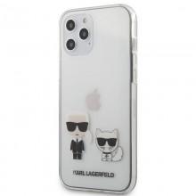 Karl Lagerfeld Ikonik+Choupette - Etui iPhone 12 Pro Max (przezroczysty)