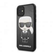 Karl Lagerfeld Iconic Karl Embossed Fullbody - Etui iPhone 11 (Black)