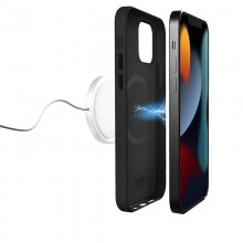 PURO SKYMAG - Etui iPhone 13 Pro Made for MagSafe (czarny)
