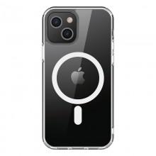PURO LITEMAG - Etui iPhone 13 MagSafe (przezroczysty)