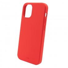 PURO ICON Anti-Microbial Cover - Etui iPhone 13 z ochroną antybakteryjną (czerwony)