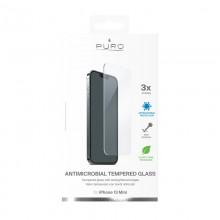 PURO Anti-Bacterial Szkło ochronne hartowane z ochroną antybakteryjną na ekran iPhone 13 Mini