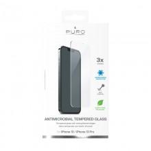 PURO Anti-Bacterial Szkło ochronne hartowane z ochroną antybakteryjną na ekran iPhone 13 / iPhone 13 Pro