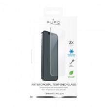 PURO Anti-Bacterial Szkło ochronne hartowane z ochroną antybakteryjną na ekran iPhone 13 Pro Max