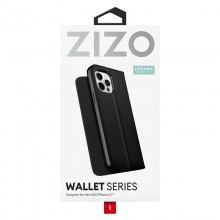 ZIZO WALLET Series - Etui z klapką iPhone 13 Pro Max (czarny)
