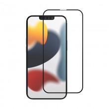 Crong 7D Nano Flexible Glass - Niepękające szkło hybrydowe 9H na cały ekran iPhone 13 / iPhone 13 Pro