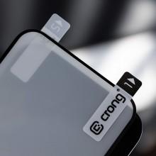 Crong 7D Nano Flexible Glass - Niepękające szkło hybrydowe 9H na cały ekran iPhone 13 Pro Max