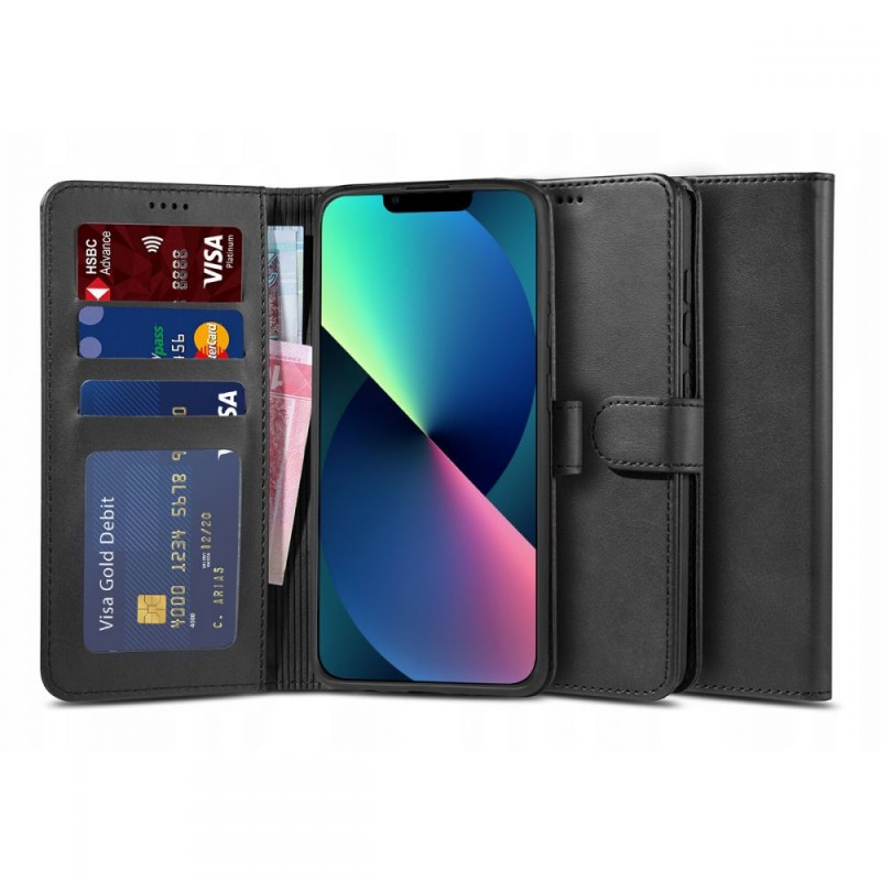 """TECH-PROTECT WALLET """"2"""" IPHONE 13 PRO MAX BLACK"""