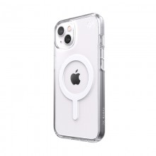 Speck Presidio Perfect-Clear + MagSafe – Etui iPhone 13 z powłoką MICROBAN (Clear)