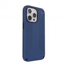Speck Presidio2 Grip - Etui iPhone 13 Pro z powłoką MICROBAN (Coastal Blue/Black)