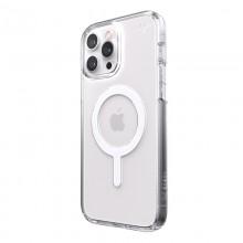Speck Presidio Perfect-Clear + MagSafe – Etui iPhone 13 Pro Max z powłoką MICROBAN (Clear)