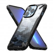 RINGKE FUSION X IPHONE 13 PRO CAMO BLACK