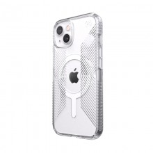 Speck Presidio Perfect-Clear with Grips + MagSafe - Etui iPhone 13 z powłoką MICROBAN (Clear)