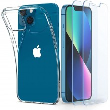 SPIGEN CRYSTAL PACK IPHONE 13 MINI CRYSTAL CLEAR