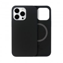 Crong Color Cover Magnetic - Etui iPhone 13 Pro MagSafe (czarny)