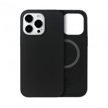 Crong Color Cover Magnetic - Etui iPhone 13 Pro Max MagSafe (czarny)