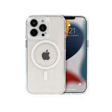 Crong Clear MAG Cover - Etui iPhone 13 Pro MagSafe (przezroczysty)