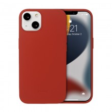 Crong Color Cover - Etui iPhone 13 (czerwony)