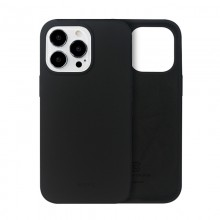 Crong Color Cover - Etui iPhone 13 Pro Max (czarny)