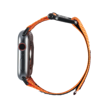 UAG Active Strap - materiałowy pasek do Apple Watch 42/44 mm (pomarańczowy)