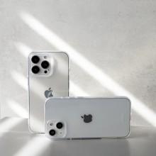 Crong Crystal Slim Cover - Etui iPhone 13 (przezroczysty)