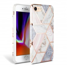 TECH-PROTECT MARBLE IPHONE 7/8/SE 2020 PINK