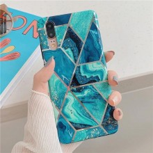 TECH-PROTECT MARBLE IPHONE 7/8/SE 2020 BLUE