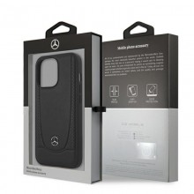 Mercedes Leather Urban - Etui iPhone 13 Pro (czarny)