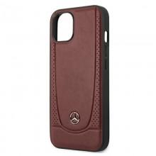 Mercedes Leather Urban - Etui iPhone 13 (czerwony)