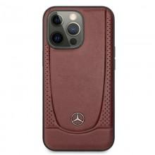Mercedes Leather Urban - Etui iPhone 13 Pro (czerwony)