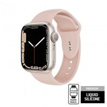 Crong Liquid - Pasek do Apple Watch 38/40/41 mm (piaskowy róż)
