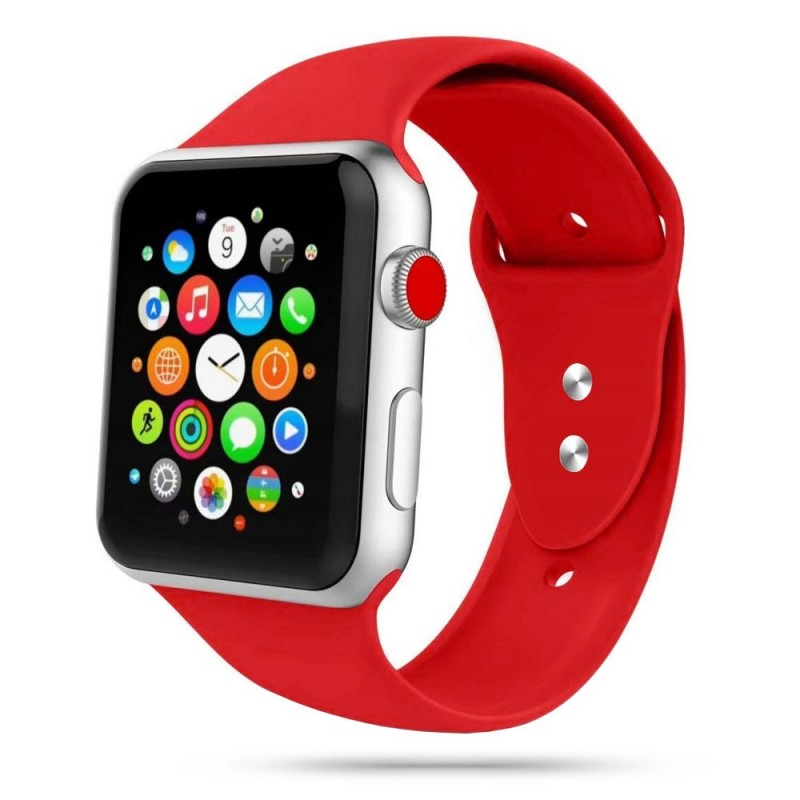 TECH-PROTECT ICONBAND APPLE WATCH 2/3/4/5/6/SE (38/40MM) RED