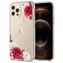 SPIGEN CYRILL CECILE IPHONE 12/12 PRO RED FLORAL