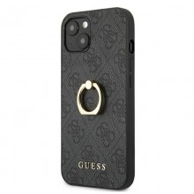 Guess 4G Ring Case - Etui iPhone 13 mini (szary)